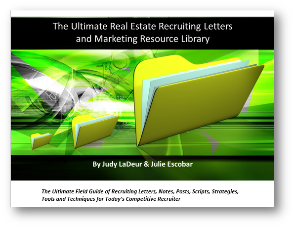the ultimate real estate recruiting letters and marketing  resource library