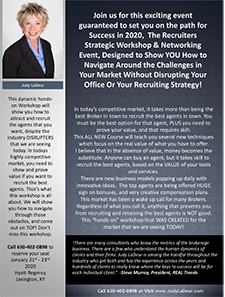 Recruiters Workshop & Networking Event